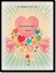 CommunityHeartAward