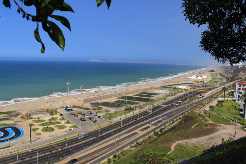 Vista al mar, Miraflores Lima